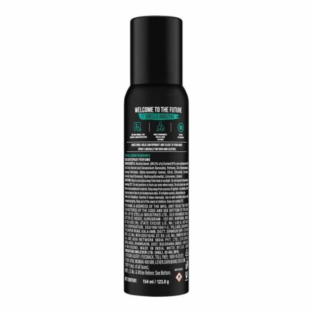 Axe Signature Mysterious long Lasting No Gas Body Deodorant For Men, (154 ml)