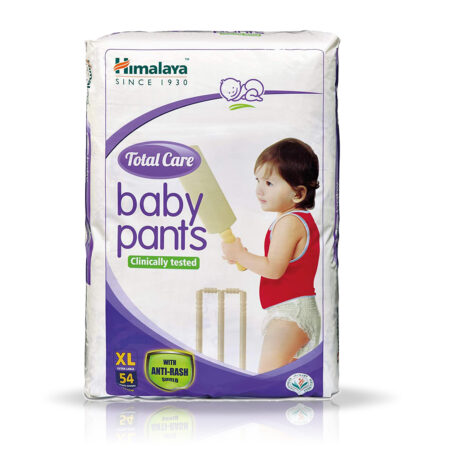 Himalaya Total Care Baby Pants Diapers, X Large (12 – 17 kg), 54 Count