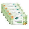 Joy Pure & Safe Germ Protection Hand & Face Sanitizing Wipes, Pack of 5