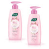 Joy Rose Moisturizing, Skin Soothing & Hydration With Rose Extract, Body Serum Lotion, 300ml Pack of 2