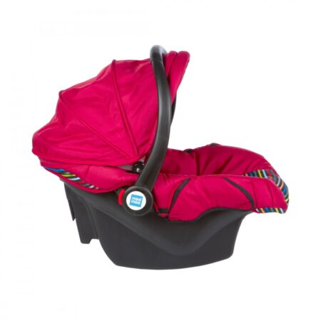 Mee Mee 3 In 1 Baby Car Seat, Carry Cot & Rocker (Red)
