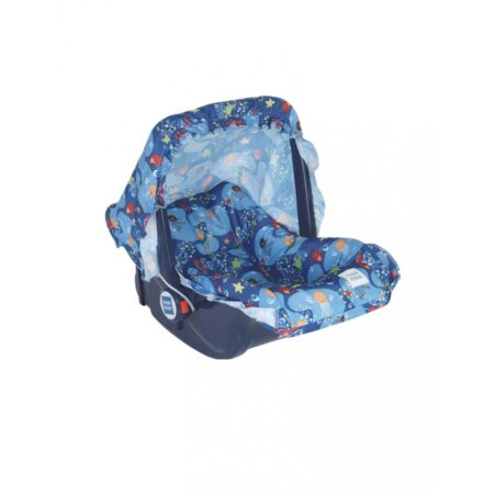 Mee Mee 5 In 1 Cozy Baby Carry Cot With Rocker Function, (Blue)