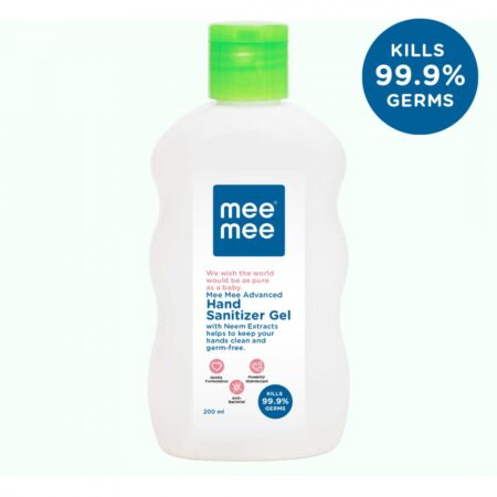 Mee Mee Advanced Hand Sanitizer Gel With Neem Extracts (200ml)