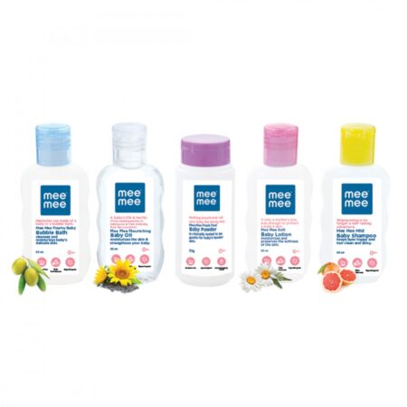 Mee Mee Carry-On Skin Care Travel Pack With Fruit Extracts (Pack of 5)
