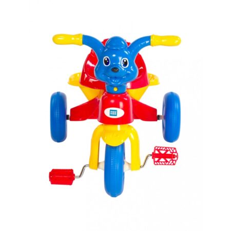 Mee Mee Easy To Ride Musical Baby Tricycle With Sturdy Wheels, (Red)