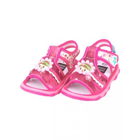 Mee Mee First Walk Baby Sandals With Chu Chu Sound (Pink)