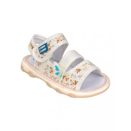 Mee Mee First Walk Baby Sandals With Chu Chu Sound, (Butterfly)