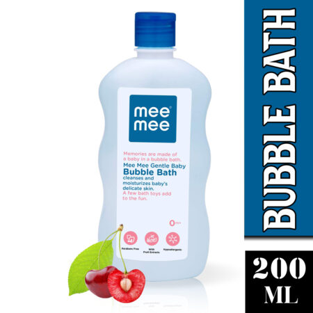 Mee Mee Gentle Bubble Bath With Fruit Extracts (200ml)
