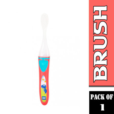 Mee Mee Kids Toothbrush With Lights And Easy Grip Handle, (Red)