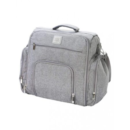 Mee Mee Stylish Nursery Diaper Backpack/Sling Bag For Parents (Light Gray)