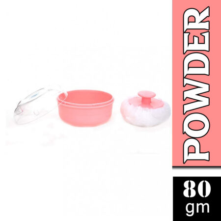 Mee Mee Soft Feel Powder Puff With Powder Container Pink (80g)