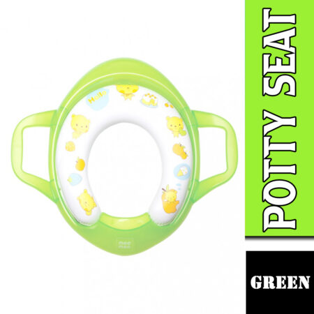 Mee Mee Soft Cushioned Non-Slip Potty Seat With Easy Grip Handles (Light Green)