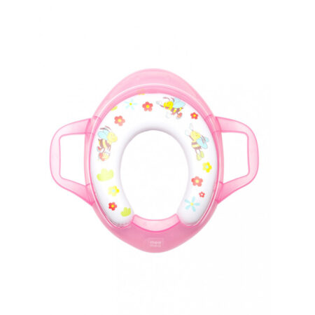 Mee Mee Soft Cushioned Non-Slip Potty Seat With Easy Grip Handles (Pink)