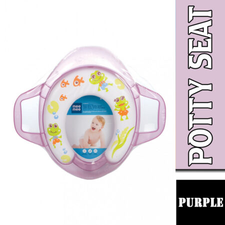 Mee Mee Soft Cushioned Non-Slip Potty Seat With Easy Grip Handles (Purple)