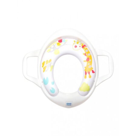 Mee Mee Soft Cushioned Non-Slip Potty Seat With Easy Grip Handles (White)