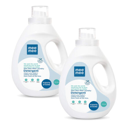 Mee Mee Mild Baby Laundry Detergent (1.5 Ltr) Pack of 2