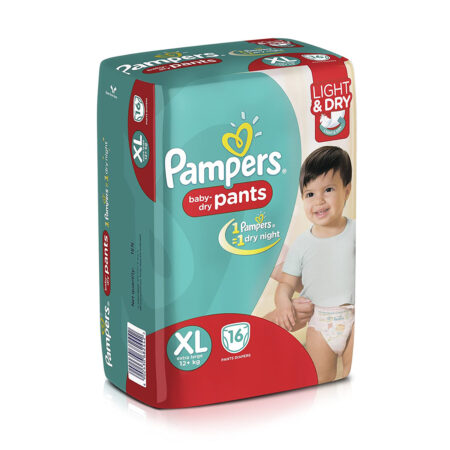 Pampers Diaper Pants, (XL) Extra Large, 16 Count