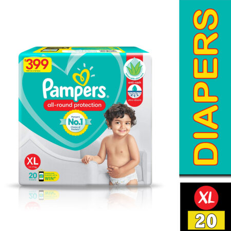 Pampers Diaper Pants, Extra Large, 20 Count