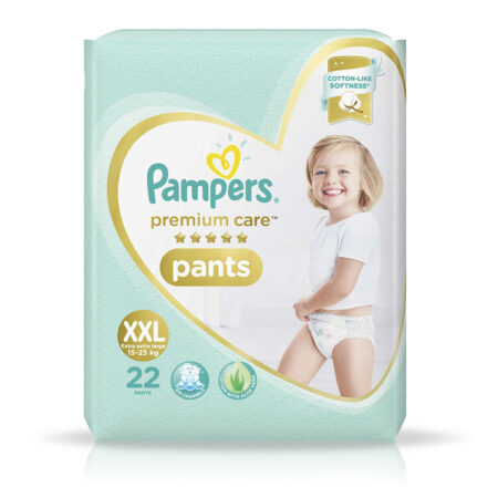 Pampers Premium Care Pants Diapers, XXL, 22 Count