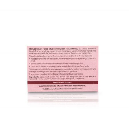 Vlcc Slimmer's Herbal Infusion with Green Tea - Slimming (10 Bags)
