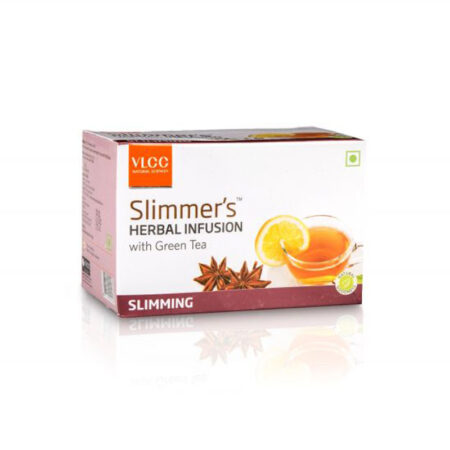 Vlcc Slimmer's Herbal Infusion with Green Tea – Slimming (10 Bags)