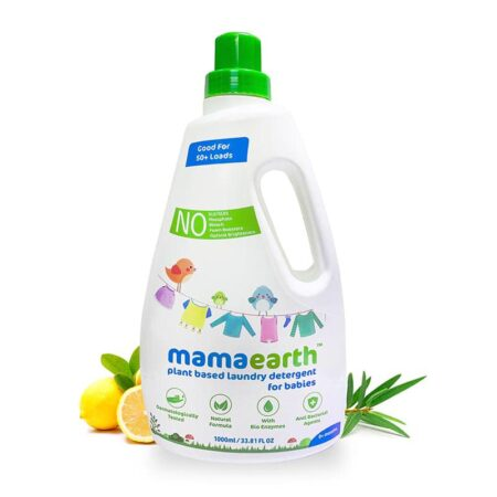 Mamaearth Plant based laundry detergent, 1Ltr