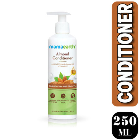Mamaearth Almond Conditioner with Almond Oil & Vitamin E for Healthy Hair Growth, 250ml (Pack o
