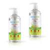 Aloe Vera Gel with Pure Aloe Vera and Vitamin E for Skin and Hair 300ml Pack of 2