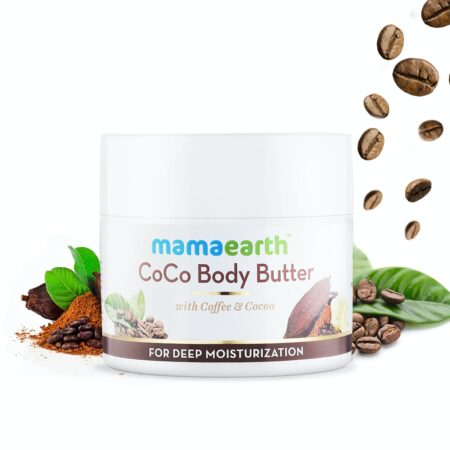 Mamaearth CoCo Body Butter for Dry Skin, with Coffee and Cocoa for Deep Moisturization, 200g
