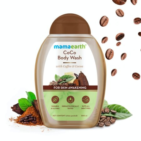 Mamaearth CoCo Body Wash With Coffee and Cocoa For Skin Awakening, 300ml