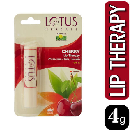 Lotus Herbals LIP THERAPY Cherry, 4g