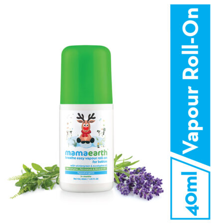 Mamaearth Breathe Easy Vapour Roll-on, 40ml