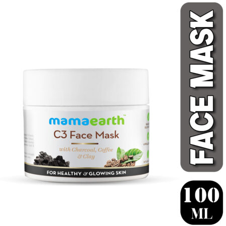 Mamaearth C3 Face Mask for healthy and glowing skin, 100ml (Pack of 2)