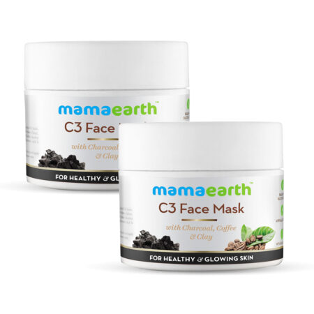Mamaearth C3 Face Mask for healthy and glowing skin, 100 ml (Pack of 2)
