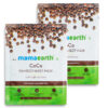 Mamaearth CoCo Bamboo Sheet Mask with Coffee and Cocoa for Skin Awakening, 25 gm (Pack of 2)