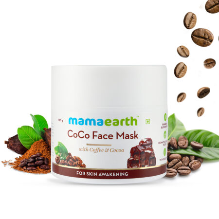 Mamaearth CoCo Face Mask with Coffee and Cocoa for Skin Awakening, 100g
