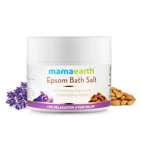 Mamaearth Epsom Bath Salt for Relaxation and Pain Relief, 200g