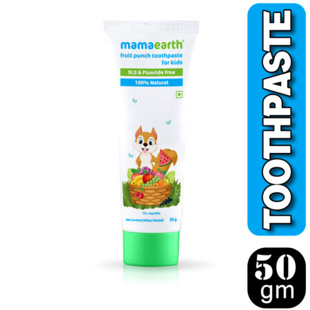 Mamaearth Fruit Punch Toothpaste, 50g