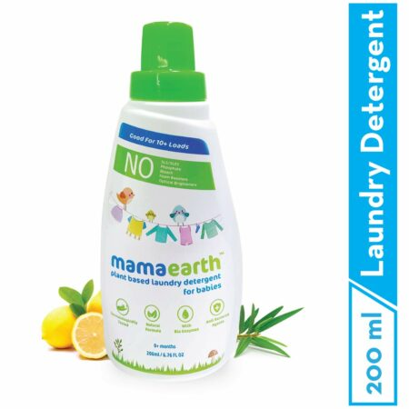 Mamaearth Plant based laundry detergent, 200ml (Pack of 2)