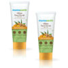Mamaearth Ubtan Face Scrub with Turmeric and Walnut for Tan Removal - 100g Pack of 2