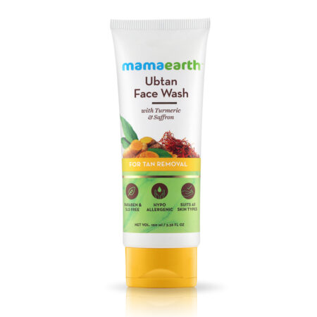 Mamaearth Ubtan Face Wash for Tan Removal (100 ml)