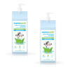 Milky Soft Shampoo with Oats, Milk and Calendula for Babies 400 ml (Pack of 2)
