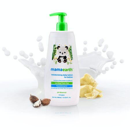 Mamaearth Moisturizing Daily Lotion For Babies, 400ml