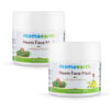 Neem Face Mask with Neem and Tea Tree for Pimples and Zits (100ml) Pack of 2