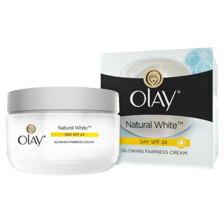 Olay Natural White 7 IN ONE Glowing Fairness Cream SPF 24, (50g)