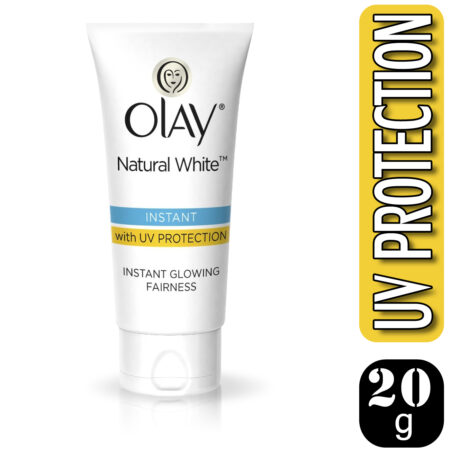 Olay Natural White 7 IN ONE Instant Glowing Fairness with UV Protection, 20g