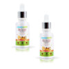 Skin Correct Face Serum with Niacinamide and Ginger Extract for Acne Marks and Scars 30ml (Pack of 2)